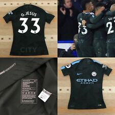 Manchester City Nike Player Issue Match Worn 3rd Football Shirt G.JESUS Size M