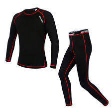 Sports Cycling Winter Pants & Jersey Long Sleeve Tights Suits Thermal Fleece