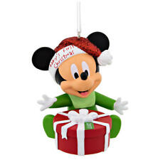 2017  Hallmark Mickey Mouse or Minnie Mouse Baby's 1st First Christmas Ornament