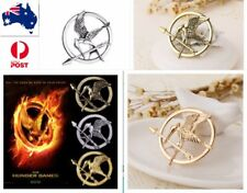 The Hunger Games MOCKINGJAY Pin  Antique Gold/Sliver/Bronze
