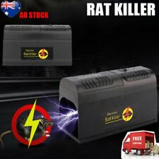 NEW RODENT KILLER ELECTRIC ELECTRONIC RAT MOUSE MICE REPELLANT TRAP AU STOCK AU`