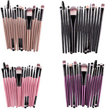 New fashion set 15 pcs brush cosmetic brush eye eyebrow lip makeup brushes tool