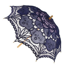 Vintage Lace Umbrella Wedding Bridal Parasol Women Fancy Dress Accessory