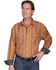 Scully Signature Series Patterned Stripe Western Shirt - PS-105 RUS
