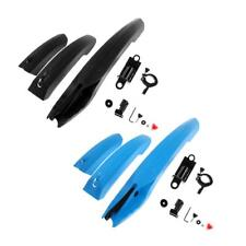 Bike Bicycle Cycling Fenders Front Rear Mudguard Set Mud Guards with Tail Light