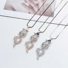 Crystal Flower Long Sweater Chain Pendant Necklace Korean Jewelry Gift