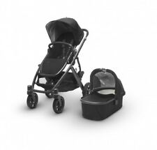 Uppababy VISTA 2017 Stroller With Bassinet & Rain Cover & Bug Shield in Jake