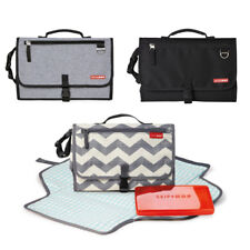 Skip Hop Pronto Baby Nappy Changing Station. diaper clutch with zip-off pad.