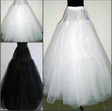 Hot 3 Layers Hoop less Bridal Petticoat Wedding Underskirt Crinoline011703