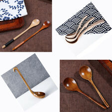 Classic Handle Cutlery Wooden Spoon Coffee Tea Cooking Dining Soup Ladle