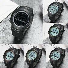 OHSEN 1613 Waterproof Mens Womens Sport LED Light Watch with Silicone Watch Band