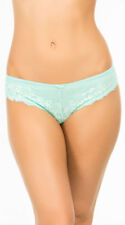 Womens Cut Ties Blue Hipster Panty, Blue Lace Panty