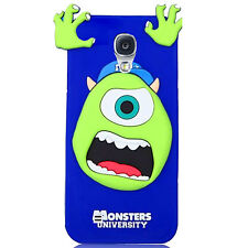 3D Cute Cartoon Soft Silicone Rubber Skin Case Cover For Samsung Galaxy S4 i9500