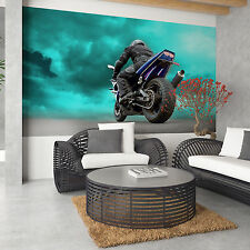 Poster Wall Decoration Premium Paper Motorbike Motorcycle Racing
