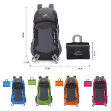 Foldable Mens Outdoor Trekking Backpack Mountaineering Rucksack Hiking Bag