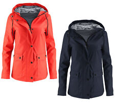 Ladies Rain Jacket Rain Coat Valiant RAINCOAT PARKA COAT Transitional Jacket