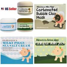 Elizavecca Milky Piggy Carbonated Bubble Mask, Sea Salt Cream, Collagen Jella