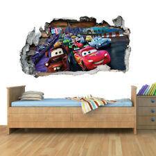 Disney Cars Planes Race Smashed Wall Art Vinyl Decal Stickers Home Decor Boys G