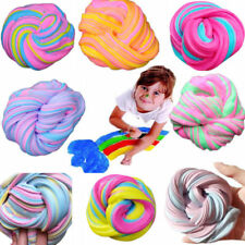 DIY Creative Toys Fluffy Slime Floam Mud Colorful Clay Sludge Stress Relief Gift