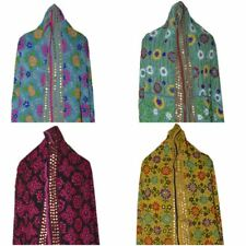 New Womens Ladies Phulkari Embroidery Handwork Traditional Indian Dupatta Scarf