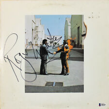 Roger Waters Pink Floyd Signed Wish You Were Here Album Cover W/ Vinyl BAS