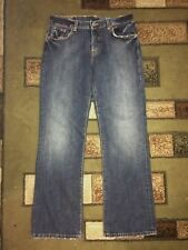 """*LUCKY BRAND*EASY RIDER*BLUE JEANS,BUTTON-FLY,BOOTCUT,LOW,STRETCH,Sz.4/27,W:30"""""""