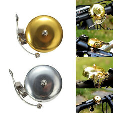 New Cycle Push Ride Bike Loud Sound One Touch Bell Retro Bicycle Handlebar FNT
