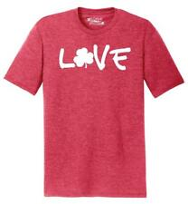 Mens Love St Patty's Day Tri-Blend Tee St Pattys Alchol Beer Lucky
