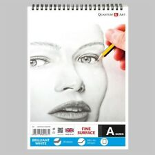 160gsm Sketch Pad Smooth White Drawing Artist Paper on SPIRAL Book