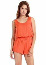 Vessos Women Crewneck Sleeveless Catsuit Casual Shorts Jumpsuits Rompers