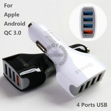 Quick Charge 3.0 Car Charger 4 Port USB Adapter for iPhone 7 6 Plus Samsung LG