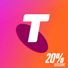Telstra Prepaid Recharge Vouchers (20% DISCOUNT) for Mobile Internet Tablet iPad