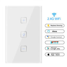 WIFI Smart Home Automation Control Touch Wall Light Switch Touch Panel Dimmer