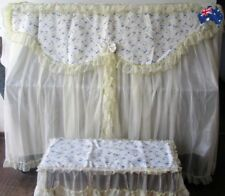 Cloth art Piano Cover Upright Piano Dust Cover and Stool Cover NEW