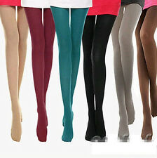 Women's Spring Autumn Footed  Opaque Stockings Pantyhose Tights 8 Colors