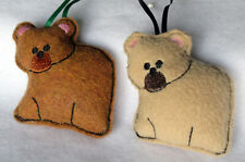 Woodland Themed Baby Mobile Charms Fox Bears Squirrel Deer Owls