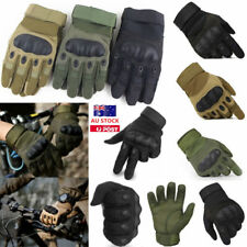 Outdoor Military Tactical Full Finger Gloves Airsoft Shooting Hunting Knuckle