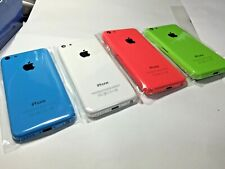 ORIGINAL iPHONE 5C BACK REAR BATTERY COVER GLASS HOUSING REPLACEMENT 4 Colours