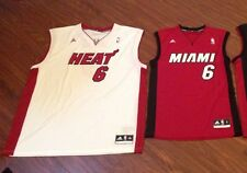 LeBron James Miami Heat Men's Adidas Replica Jersey New With Tags