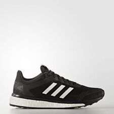 adidas Womens Response Plus Boost Neutral Running Shoes Core Black/White/Utility