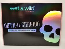WET N WILD GOTH-O-GRAPHIC SPRING COLLECTION RARE COMPLETE BOX SET FAST SHIPPING