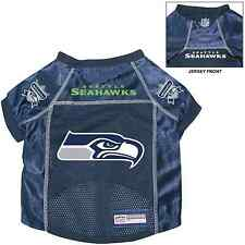 NEW SEATTLE SEAHAWKS PET DOG PREMIUM NFL ALTERNATE JERSEY w/NAME TAG