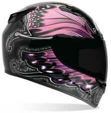 Bell Powersports Ladies Vortex Monarch Pink Snell Full Face Motorcycle Helmet