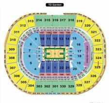 2 Boston Celtics Playoff Tickets vs Opponent TBA Round 2 Game 1  2nd Row Boston