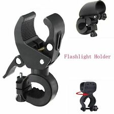 Bicycle Bracket Holder Cycling Bike  LED Lamp Torch Flashlight Mount Clamp Clip