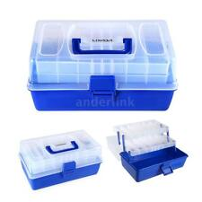 Fishing Tackle Box Plano Fishing Lure Bag Full Fish Lures Bait Storage Case A9S8