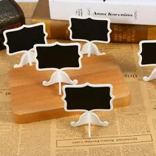 New 3Pcs Mini Lace Blackboard Chalkboard Wooden Stand Party Christmas Decoration