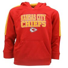 Kansas City Chiefs Kids Youth Size NFL Official Hooded Sweatshirt New with Tags
