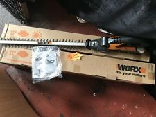WORX CORDLESS HEDGE TRIMMER WG251 18VOLT. JUST BODY NO BATTERY OR CHARGER