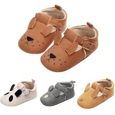 Newborn Baby Girl Soft Sole Leather Crib Pram Shoes Anti-slip Sneaker Prewalker